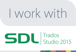 SDL web I work with Trados badge 250x170